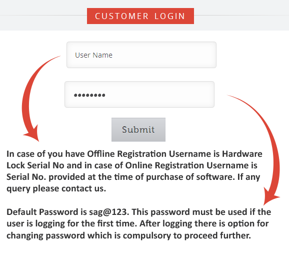 Customer Login Help