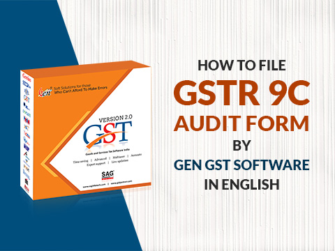 Gen GST GSTR 9C Audit Form Demo English