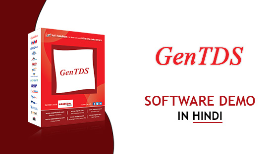 Gen eTDS Software Video Hindi