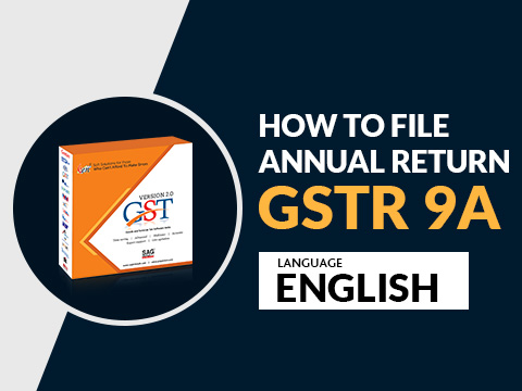Gen GST GSTR 9A Demo English