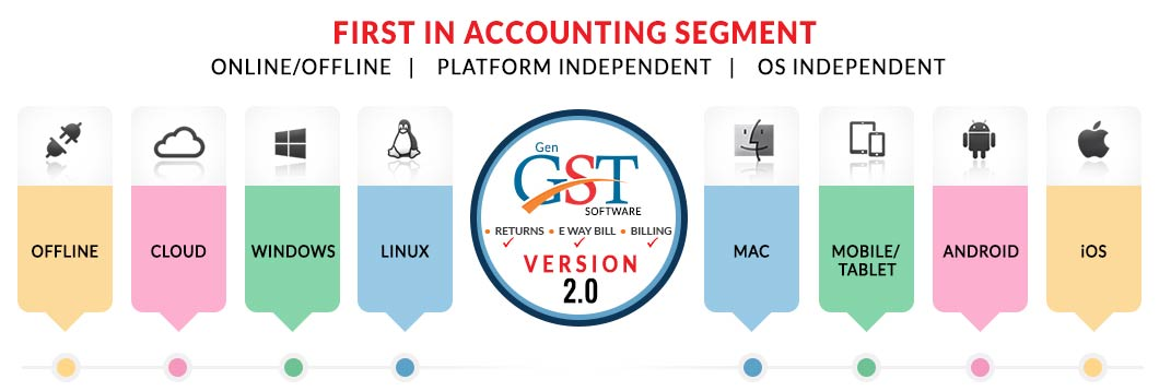 Gen GST Software Version 2