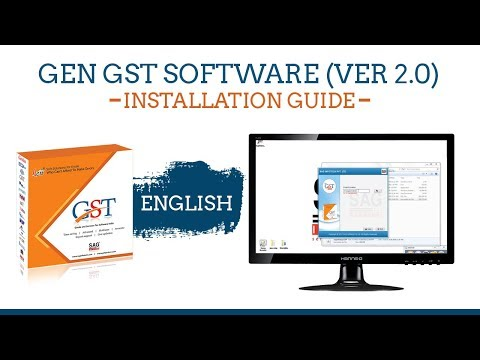 Gen GST Software Version 2.0 Installtion Guide Video