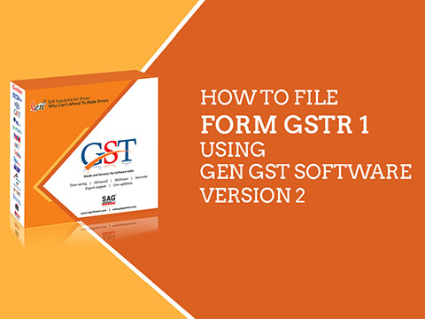 GSTR1 Filing Software